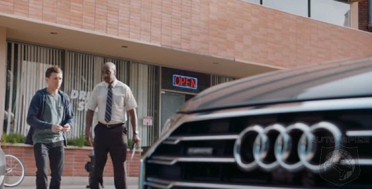 TEASED! So, J.B. Smoove, Spiderman And The All-New Audi A8 Walk Into A Bar...