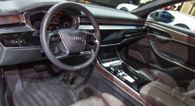#LAAUTOSHOW: IMPRESSED or DEPRESSED? Is The All-new Audi A8 Leaving You In Awe Or Is It Too Milquetoast?