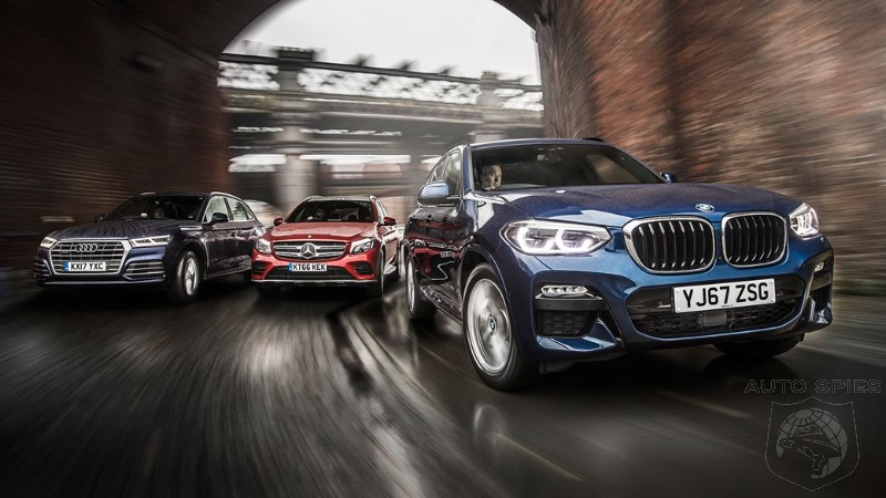 CAR WARS! The $50,000 Question: WHICH Is BEST? Audi Q5 vs. BMW X3 vs. Mercedes GLC-Class