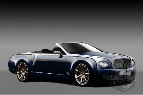 NEW Information On Bentley's Proposed Mulsanne Convertible