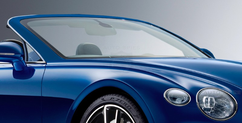 RENDERED SPECULATION: And Here's A Car You WON'T See At The #IAA Frankfurt Motor Show — All-new Bentley Continental GTC