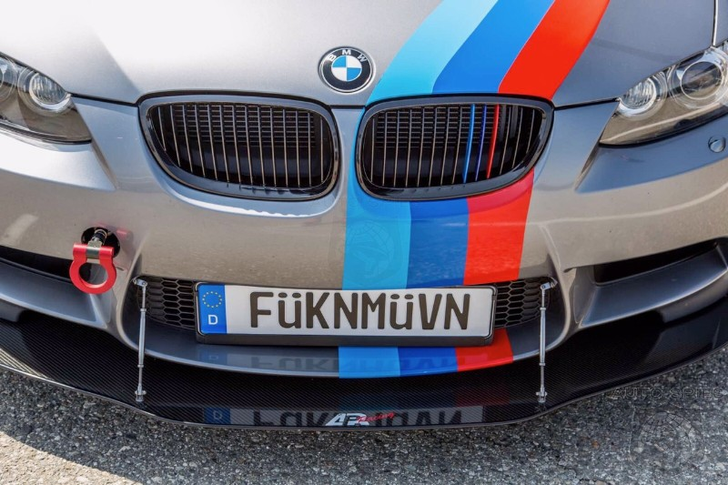 BIMMERFEST: Sometimes The Plates Do The Talking — WHICH Vanity Plate Is YOUR Favorite?