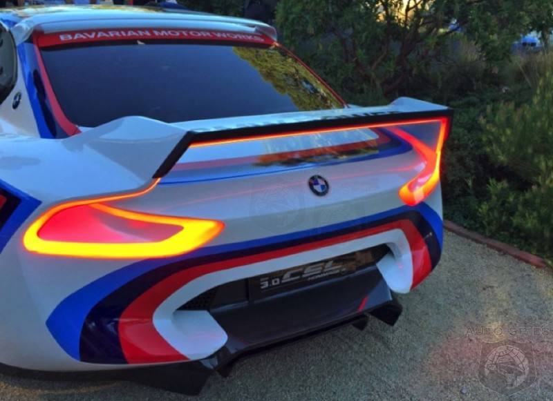 PEBBLE BEACH: BMW Resurrects The Batmobile With A Modern TWIST — The 3.0 CSL Hommage R