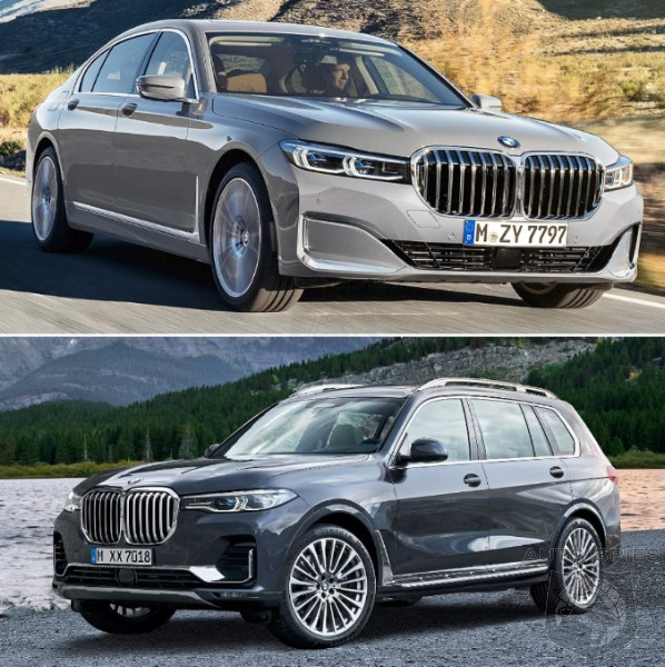 CAR WARS! Sibling Rivalry Edition: WHICH 7 Would YOU Take Home? BMW 740i vs. BMW X7 xDrive40i