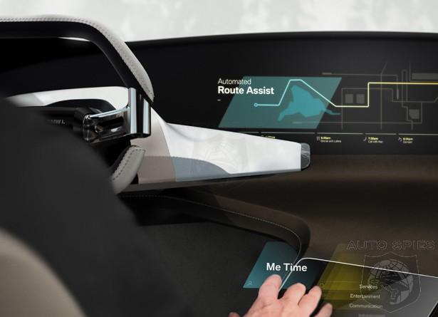 #CES: SPIED! BMW Offers A FIRST Look At Its Interior Of The Future + MORE Automated Driving Features