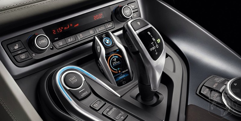 Is The BMW I8u0027s High Tech Key Fob BMWu0027s Way Of Taking On The Nissan