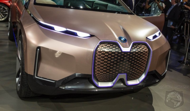 #LAAutoShow: If THIS Is The Upcoming BMW i5, Is It Going To Get SMASHED By Anything That TESLA Is Working On?