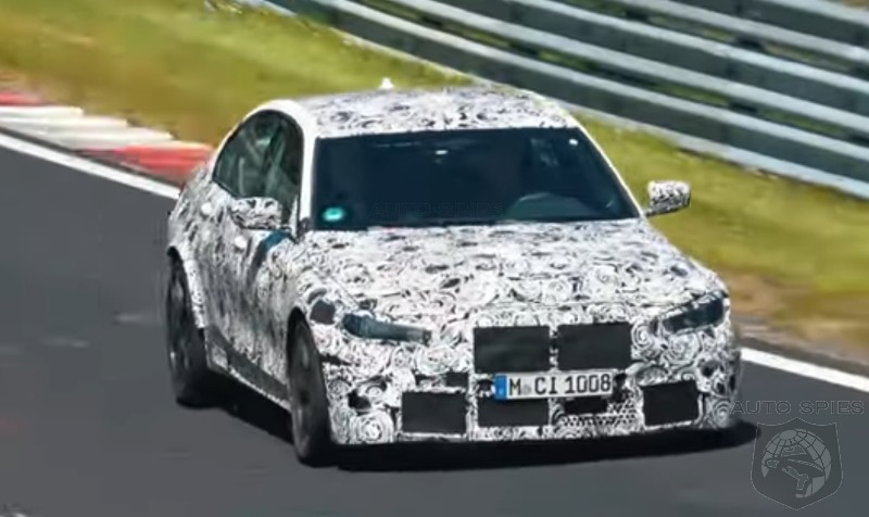 SPIED + VIDEO: The Next-gen BMW M3 Is SEEN and HEARD In Its Latest Clip — Is THIS Promising?