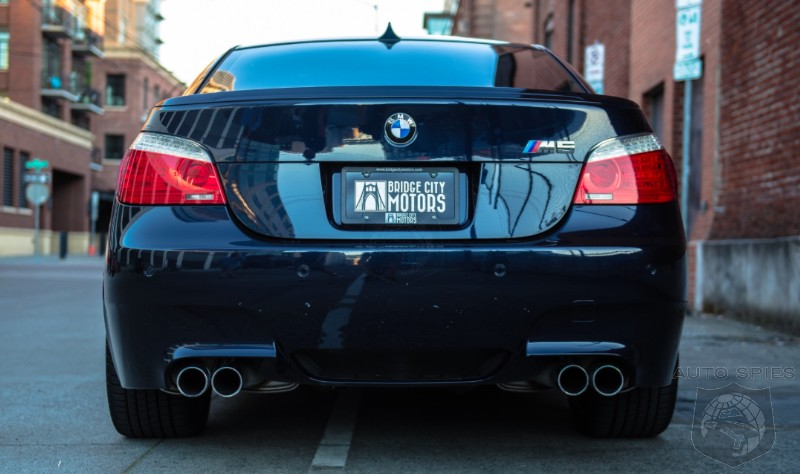 Act FAST! A 2008 BMW M5 With A MANUAL Is Up For Grabs — 2 Days Left!