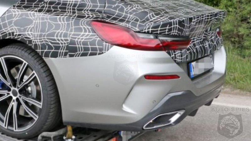 EXPOSED! BMW's Upcoming 8-Series Gran Coupe Prototype Nabbed Nearly Nude As Its Being Hauled Away