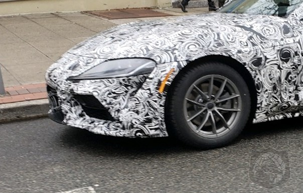 SPIED on the STREET! The All-new BMW/Toyota Supra Makes An Appearance In Town