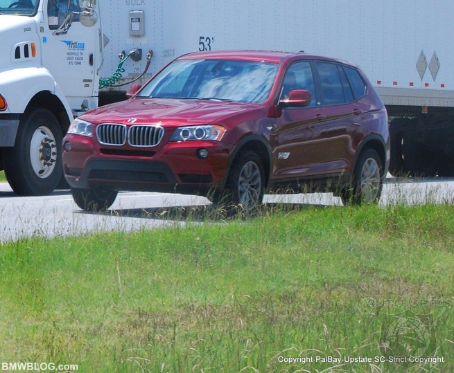 REAL LIFE Shots Of The 2011 BMW X3, Does It Look BETTER or WORSE?