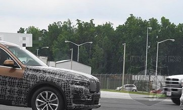 SPIED: All-new Photo Of BMW X7 Gives Us A GREAT Idea Of How BIG It Will REALLY Be