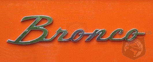 #NAIAS: EXCLUSIVE! SAY WHAT? Ford To Reveal BRONCO On Monday But NOT In Detroit At Cobo?
