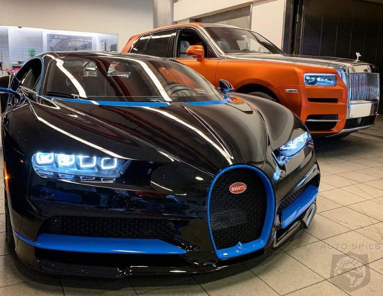 Rapper 50Cent Is A Good Boy For 2019, Gets An All-new Bugatti Chiron For Christmas...