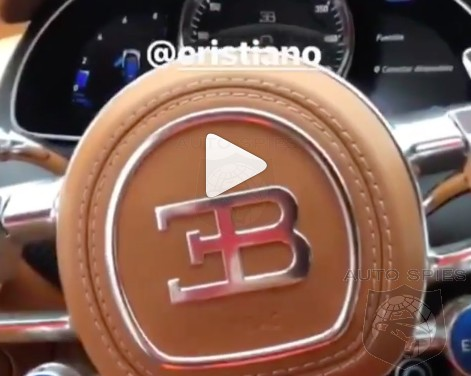 VIDEO: NY Giants' Odell Beckham Jr. Gets A Closer Look At Cristiano Ronaldo's Bugatti Chiron