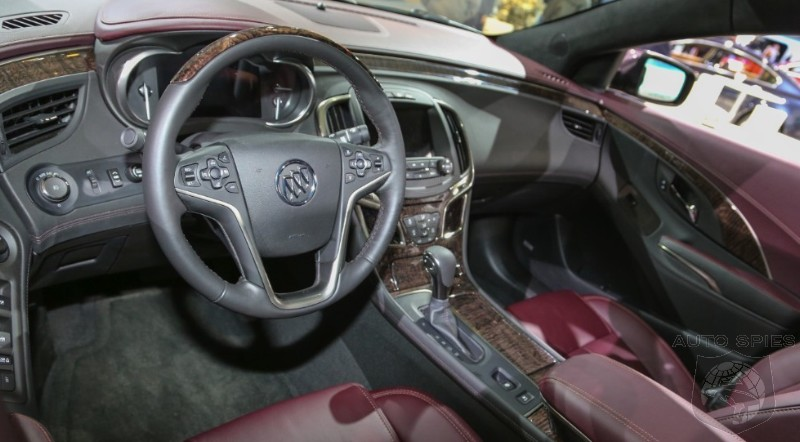 NEW YORK AUTO SHOW: Buick Chasing Acura's, Lexus' And Lincoln's Market Share, Introduces Revised 2014 LaCrosse