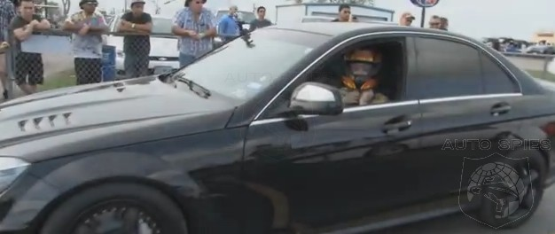 VIDEO: A 60-Something Year-Old Woman Takes Her Mercedes-Benz C63 AMG Drag Racing