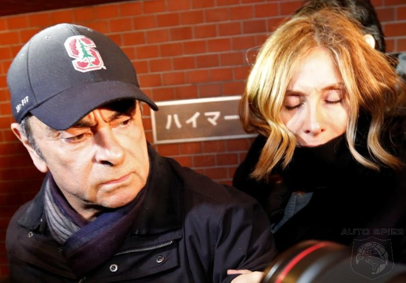 Ex-Nissan Chief, Carlos Ghosn, On TIGHT Leash Now That He's Out On Bail...