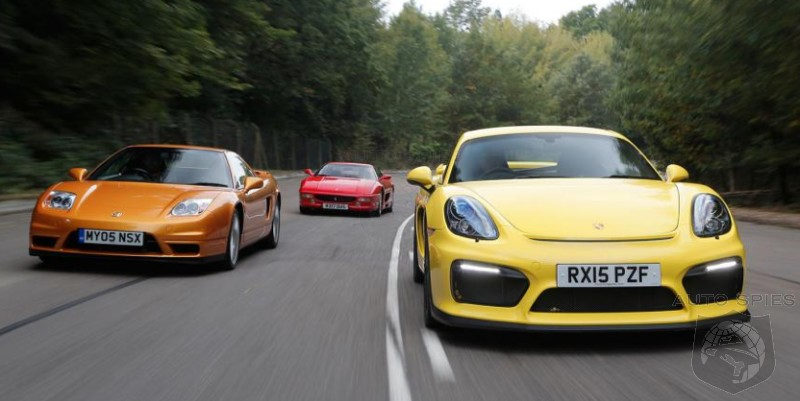 CAR WARS! Will Porsche's Cayman GT4 Have The SAME Lasting Power As Other Mid-Engine Greats Like The Acura NSX And Ferrari F355?