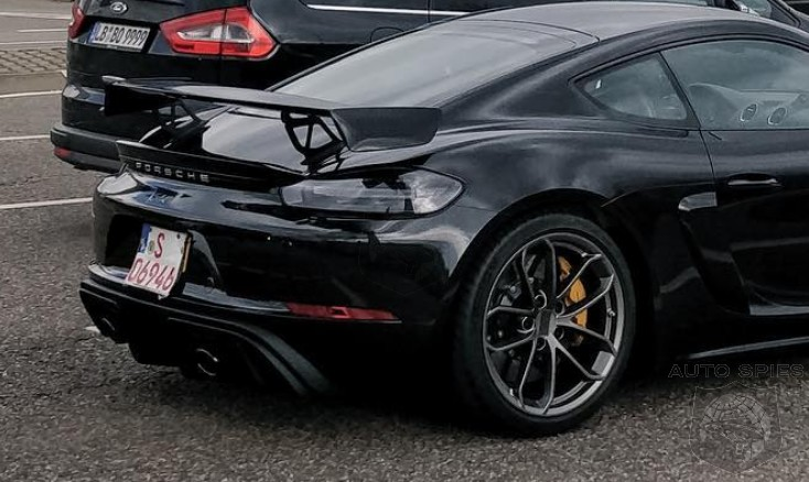 SPIED: Forget The Camo, The Porsche 718 Cayman GT4 Is HERE — Is There Even A Need For A Debut?