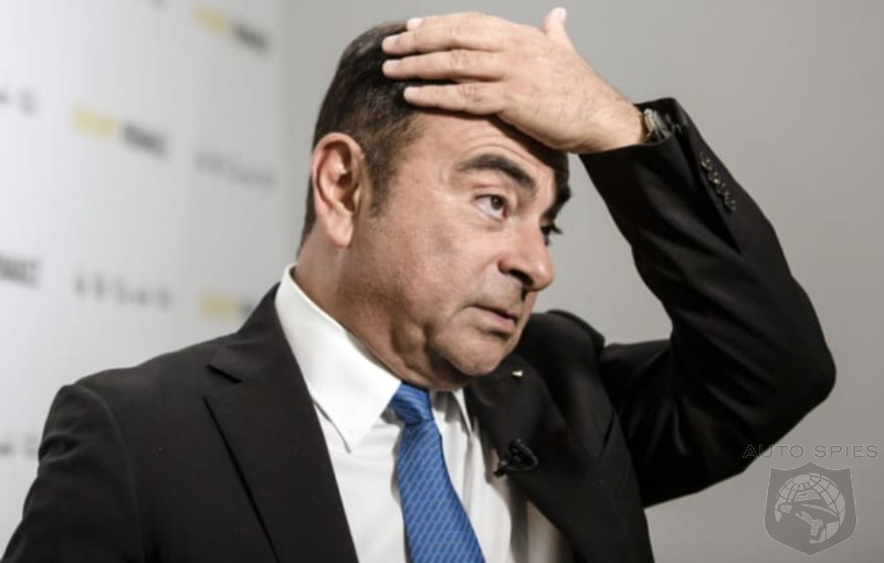 Ex-Nissan Chief, Carlos Ghosn, Received A LOT Of $$$ Improperly — Embezzlement Charges Coming Down The 'Pike?