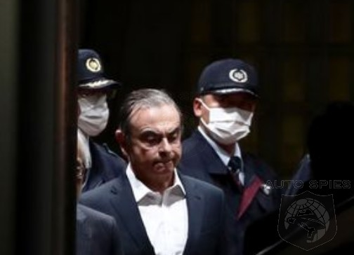 Ex-Nissan Chief, Carlos Ghosn, FLEES Japan And Is NOW In Lebanon