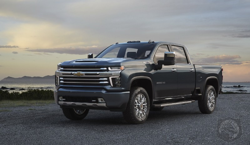 WHY Wasn't The Chevrolet Silverado HD High Country Revealed FIRST? #GrilleGate, 2018!
