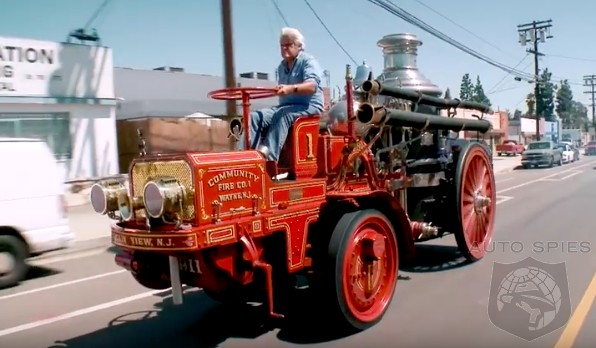 DRIVEN + VIDEO: Forget The F1, Enzo And Carrera GT — Jay Leno Takes Us For A Spin In His 1911 Christie Fire Engine