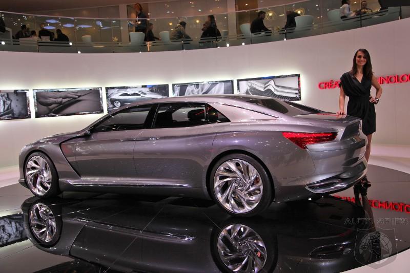 Geneva Motor Show Should Large Luxury Sedans Take Styling