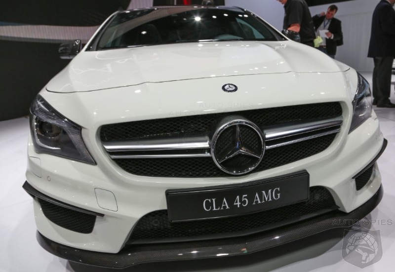 NEW YORK AUTO SHOW: Mercedes Drops The Cloak Surrounding The CLA45 — Does It Meet YOUR Expectations?