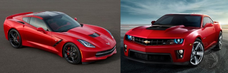 Is It Just US Or Does The Chevrolet Camaro Look BETTER Than The All-New 'Vette?
