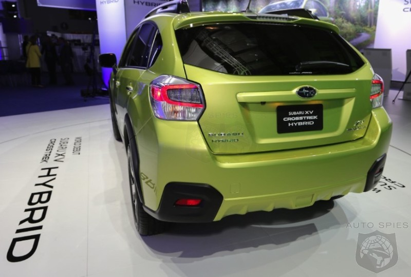 NEW YORK AUTO SHOW: FIRST Shots Of Subaru's CrossTrek Hybrid — Best Looking Subaru In Recent Years?