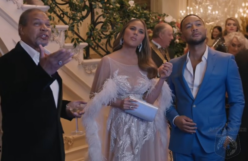 TEASED + VIDEO! Model Chrissy Teigen And Singer John Legend Get Into Trouble While Launching The Genesis GV80...