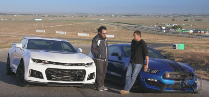 CAR WARS! Muscle Car Showdown — Chevrolet Camaro ZL1 vs. Ford Mustang Shelby GT350R