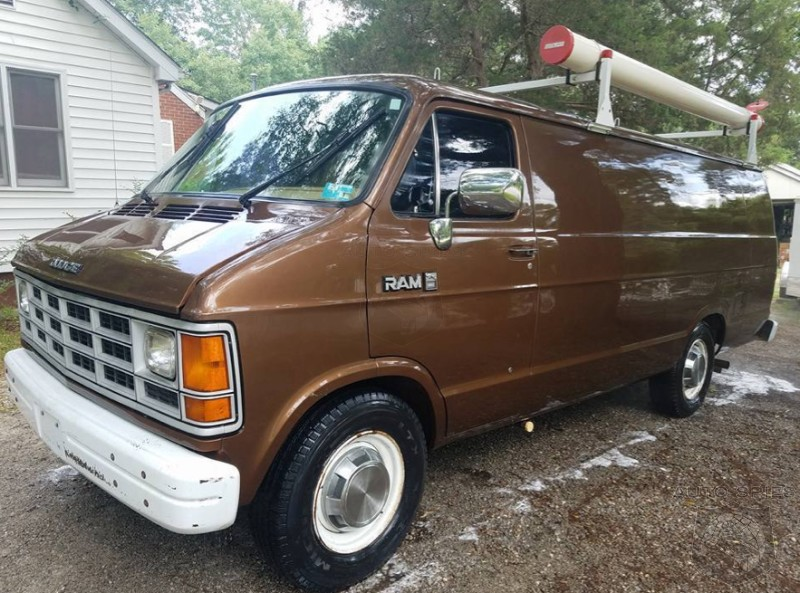 WEIRD and WONDERFUL: For Sale! 1989 Dodge RAM 350 FBI Surveillance Van W/ ALL The Toys!
