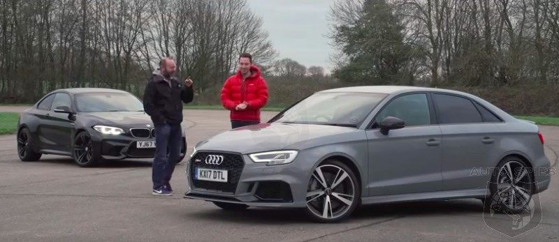 CAR WARS! Drag Race Edition: Who Wins The Sub $60k High-performance Challenge? Audi RS3 or BMW M2?