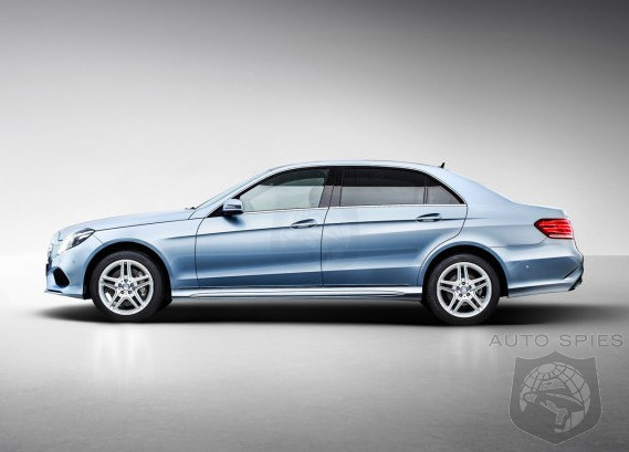 STREEEEEEETCHED Out: Mercedes-Benz Debuts Long Wheelbase E-Class