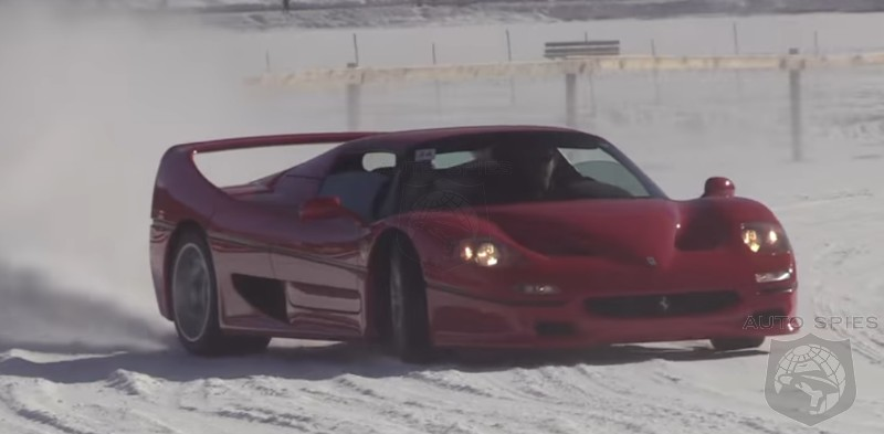 VIDEO: Supercars On ICE! See NEW And OLD Go Around This Frozen Lake At The St. Moritz