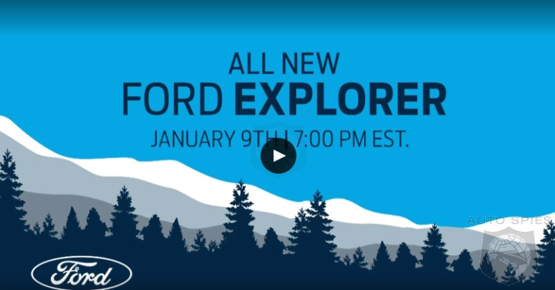 BREAKING! Watch The REVEAL Of The 2020 Ford Explorer RIGHT HERE, RIGHT NOW!