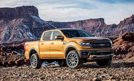 The All-new Ford Ranger Is The MOST Fuel Efficient, Gas-powered Midsize Pick Up, According To Ford