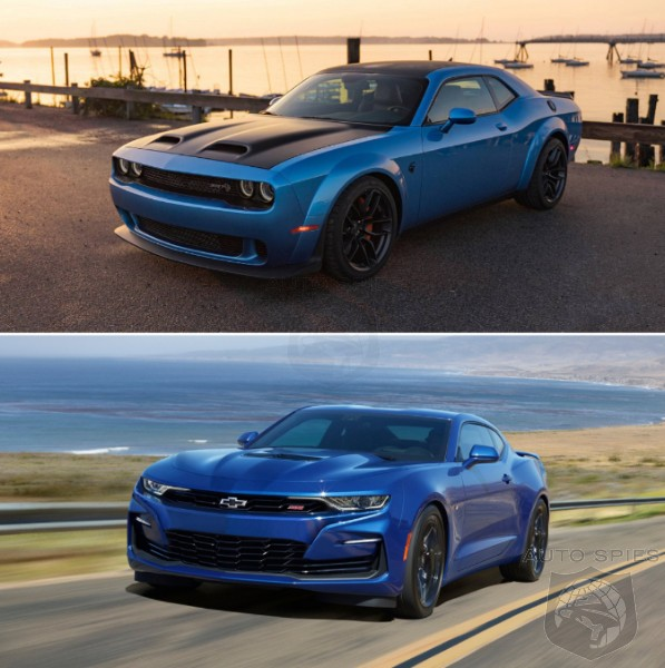 But WHY?! Can ANYONE Tell Us WHY The Dodge Challenger Is BEATING The Chevrolet Camaro In The Sales Race?
