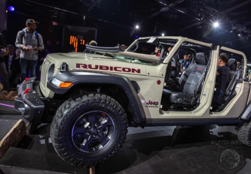MORE Pictures Of The All-new Jeep Gladiator Give Us ...