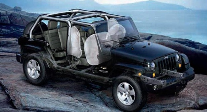 recall alert over 200 000 jeep wranglers recalled for air bag rh autospies com Single Airbag IC Bag jeep airbag wiring diagram