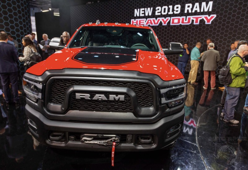#NAIAS: The All-new RAM HD Is NOT Playing Around W/ 1,000 Lb-ft. Of Torque On Tap And BOLD Styling — SEE The GOODS In These Real-life Shots