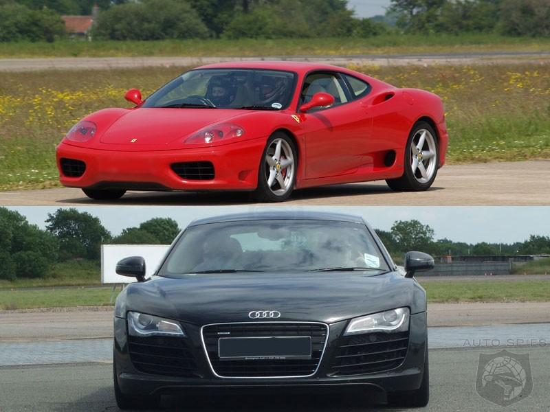 Used Car Showdown 2004 Ferrari 360 Modena Vs 2008 Audi