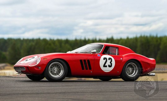 #MontereyCarWeek: Here IT Is, The 1962 Ferrari 250 GTO That Now Is The World's Most EXPENSIVE Car Ever Auctioned