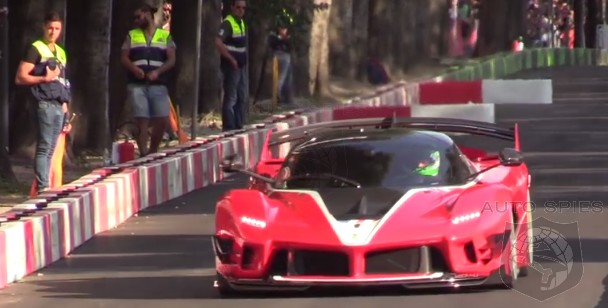 VIDEO: Dial UP The Volume — Ferrari's FXX K Dazzles Before The 2018 Italian GP