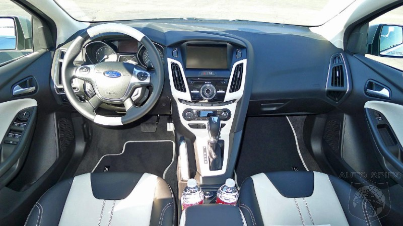 Does The 2012 Ford Focus Have The Best Small Car Interior