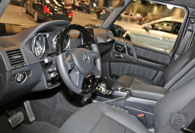 OC AUTO SHOW: 001 Scores The FIRST REAL-LIFE Interior Shots Of The Updated Mercedes-Benz G-Class' Interior